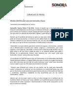17/03/16 Oficializa COFETUR nuevo vuelo entre Hermosillo y Tijuana -C.031689