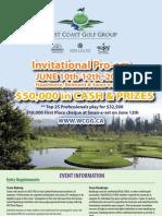 2010 West Coast Golf Group Pro-Am Poster