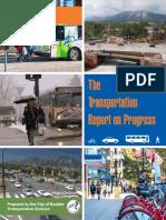 2016 Transportation Report on Progress
