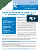 Dosif Medicament Enfermedad Renal Cronica
