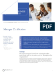 Manager Certification Franklin Covey's