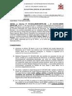 Caso Keiko Fujimori - JEE Lima Centro 1 abre procedimiento de exclusión de candidata de Fuerza Popular