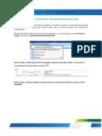 Guia Rapida - Hospitalizacion - Solicitud de Hospitalizacion