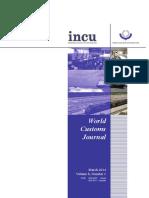World Custom Journal Volume 8 Number 1