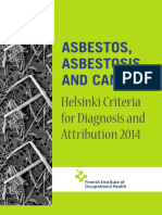 Asbestos,Asbestosis and Cáncer. Helsinski Critera for Diagnosis and Attribution2014 Para_web