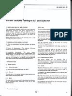 ISO 3599 Vernier Caliper