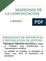 1.- Los Paradigmas de La Comunicación