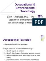 3. Occupational & Environmental Toxicology