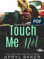 #1 Touch me not
