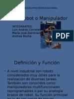 Brazo Robot o Manipulador.pptx