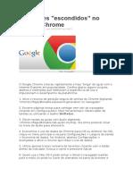25 Truques Chrome
