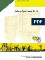 Model Building Bye-Laws 2016
