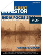 Earning their Stripes - Private Debt in India (Private Debt Investor, March 2016)