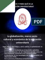La Nueva Filosofia de La Educacion Universitaria