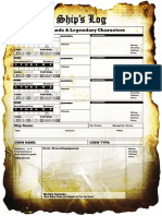 -High Seas Ship Roster Sheet