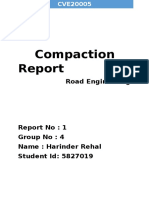 Compaction Report