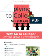 1 applying to college