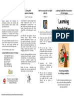 ld brochure for parents