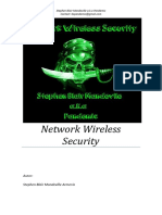 Wireless Network Security [Spanish]