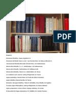 Listado de La Biblioteca de Silo