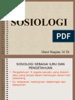 Bab i Sosiologi Sebagai Ilmu Pengetahuan