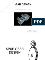 Design of Gears