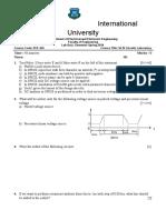 Lab Quiz VLSI