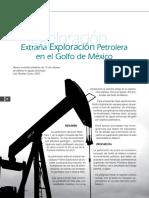 Extraña exploración petrolera en el Golfo de México