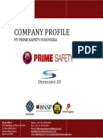 PrimeSafety Training k3 Company Profile