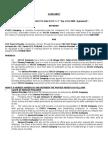 Transport Service Agreement