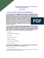 Ley Que Regula Los Ingresos de Los Altos Funcionarios Autoridades Del Estado y Dicta Otras Medidas