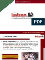 Brochure Kaizen Mejora Continua