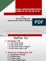 Prosedur Pembentukan LSP Bp Sanromo