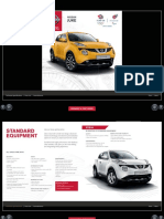 Nissan Juke Technical Specs