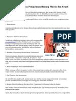 Tips Menyeleksi Jasa Pengiriman Barang Murah dan Cepat