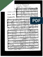 Palestrina-Pellegrino_4 Pezzi_quartetto (Partitura)