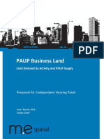 081a Ak Cncl - General - PAUP Business Land - Summary of Land Demand by Activitiy and PAUP Supply - Further Analysis