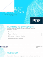 Online Cement buying guide