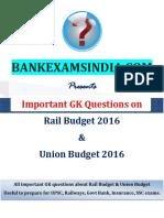 Budget GK Questions BankExamsIndia Com