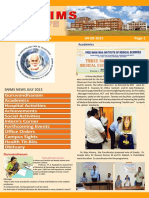 Snims News  Vol 3 Issue 8 2015