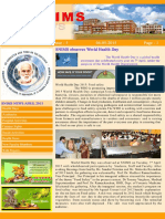 Snims News Vol 3 Issue 5 2015