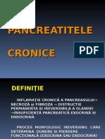 Curs 9 - Pancreatita Cronica