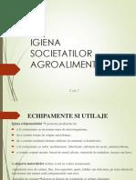 Curs 7 Igiena Societatilor Agroalimentare
