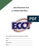 Kid's Box placement test.pdf