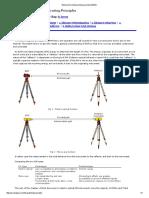 Electroninc Distance Measurement (EDM)