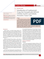 Identification of Combinatorial Drugs that Synergistically Kill both Eribulin-Sensitive and Eribulin- Insensitive Tumor Cells