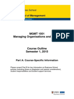 MGMT1001 Managing Organisations and People S12015