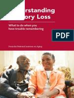 Understanding Memory Loss