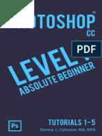 Adobe Photoshop CC Level 1