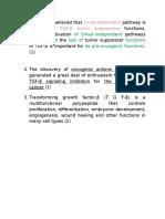 notes on anti transforming growth factor beta  usage as immunomodulator